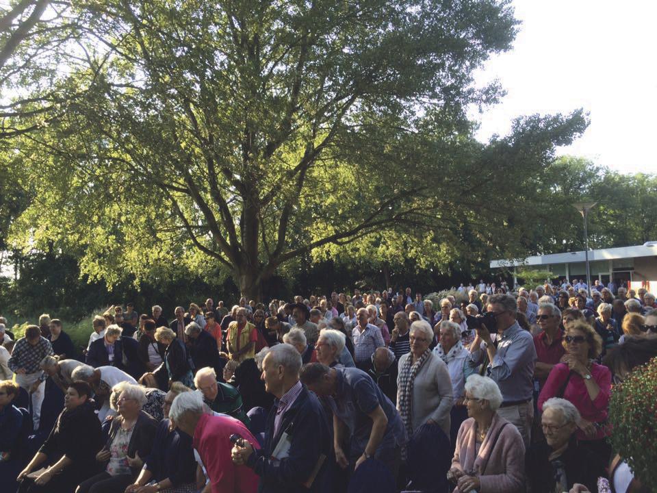 Overweldigende Belangstelling Bij Concert Crematorium Goutum Ljouwert Nu